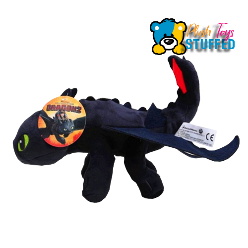 Toothless Dragon Plush Toy How To Train Your Dragon Characters