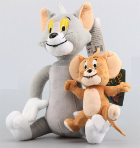Tom and Jerry Soft Plush Toy Doll Character